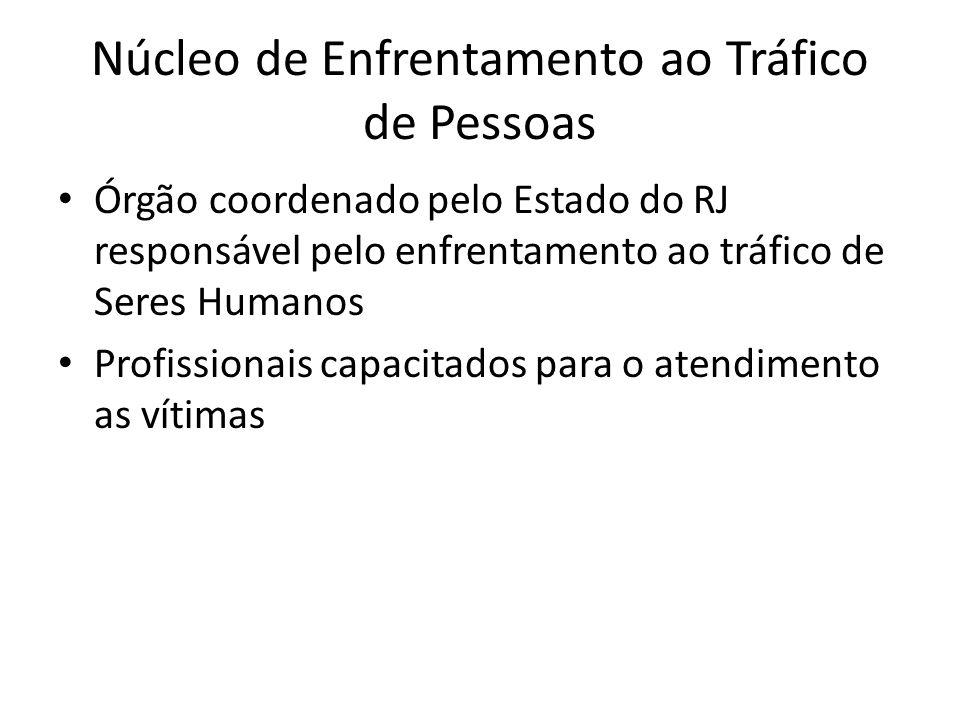 Núcleo de Enfrentamento ao Tráfico de Pessoas