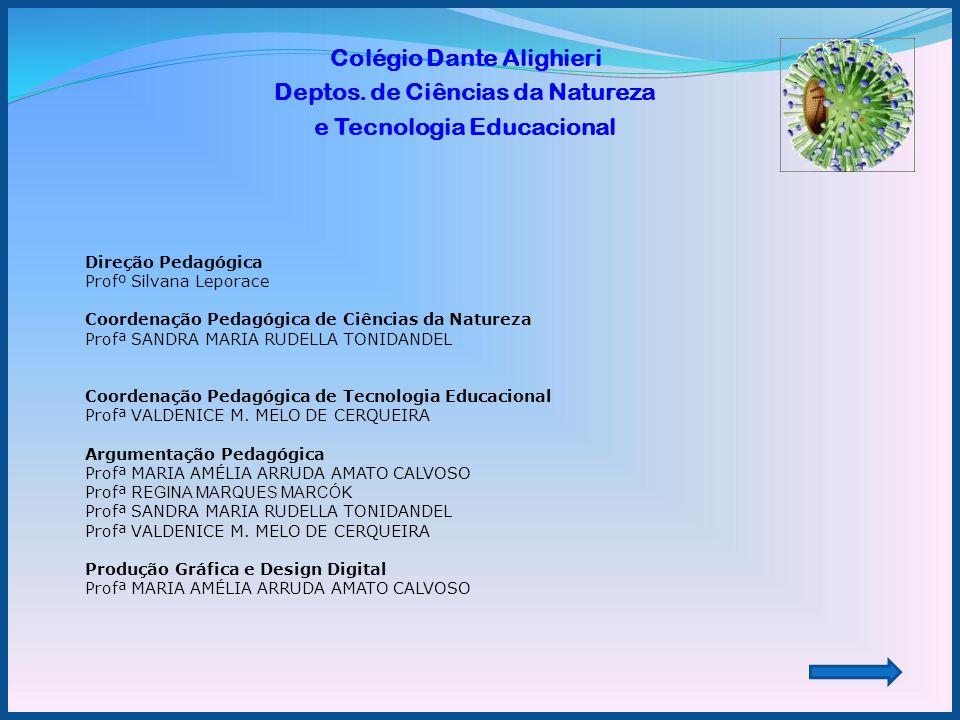 Colégio Dante Alighieri Deptos. de Ciências da Natureza