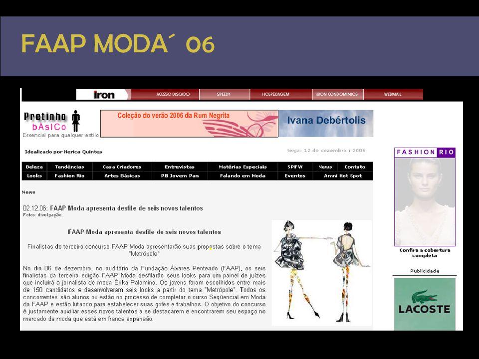 FAAP MODA´ 06