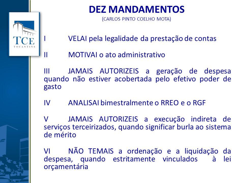 DEZ MANDAMENTOS (CARLOS PINTO COELHO MOTA)