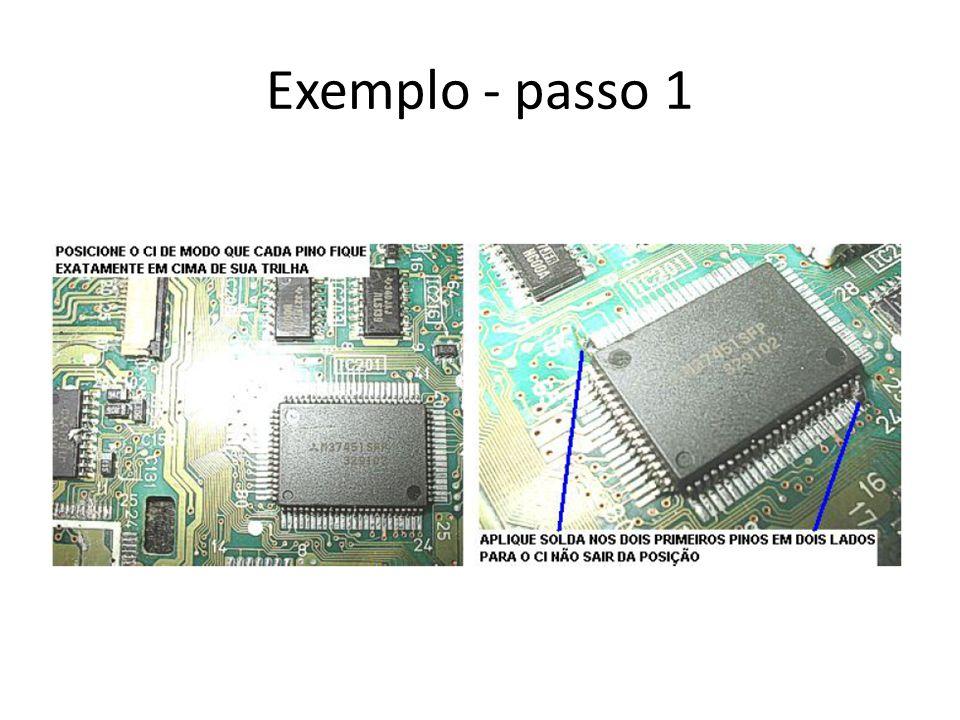 Exemplo - passo 1