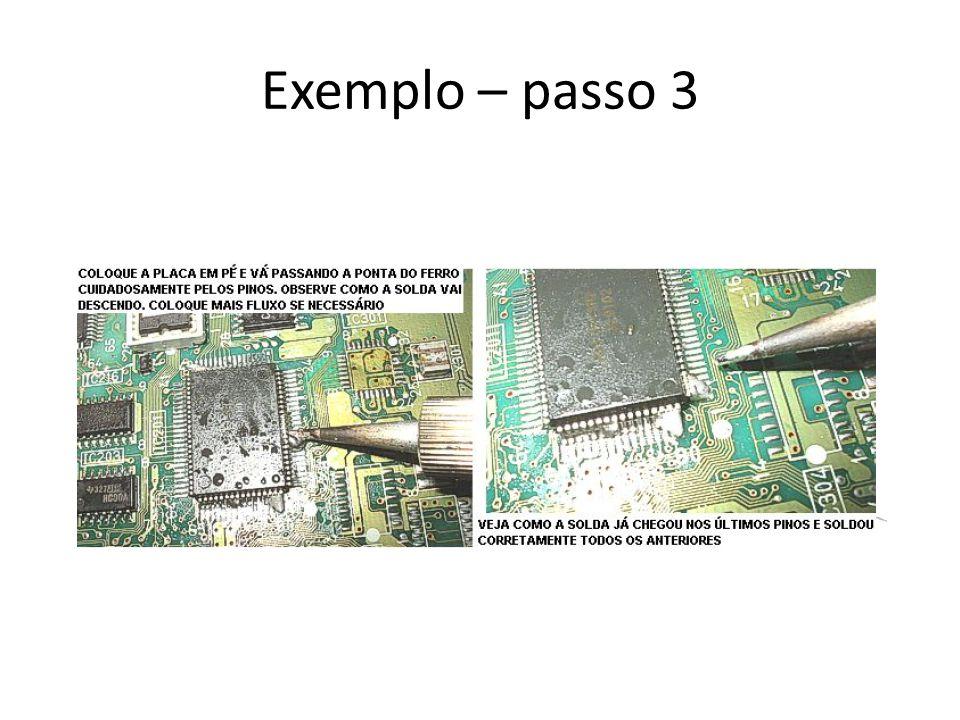 Exemplo – passo 3