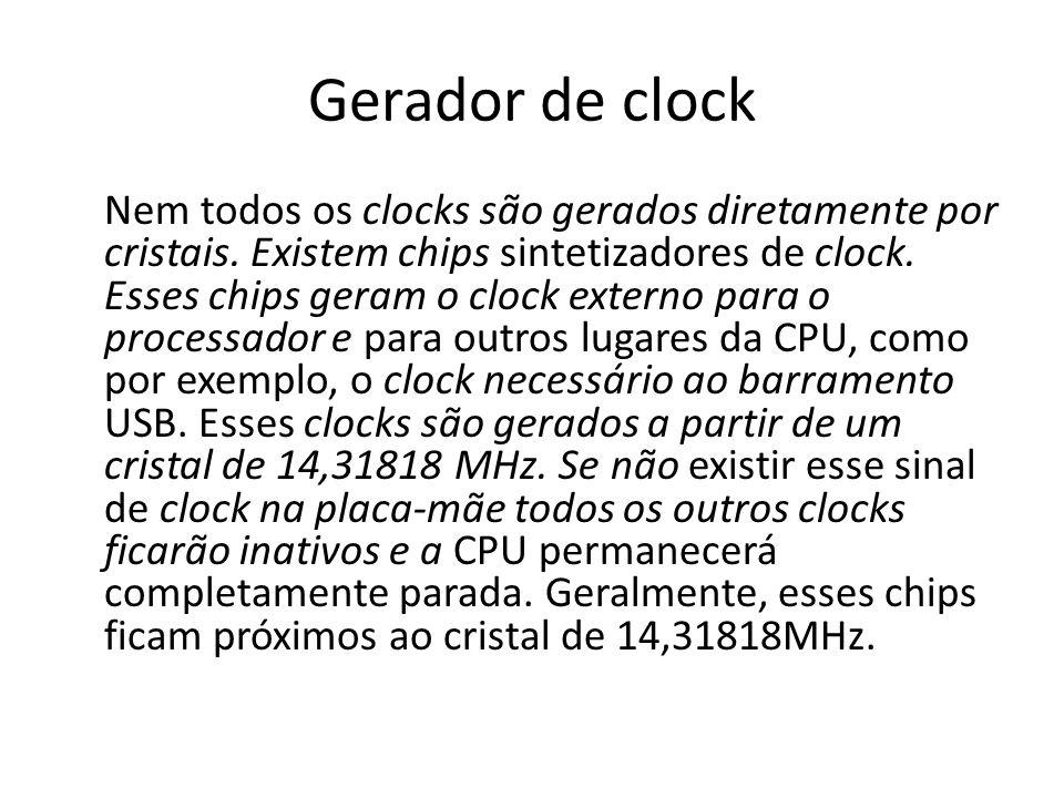 Gerador de clock