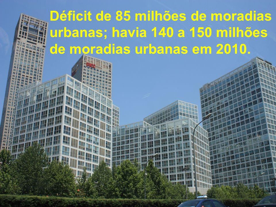 Déficit de 85 milhões de moradias