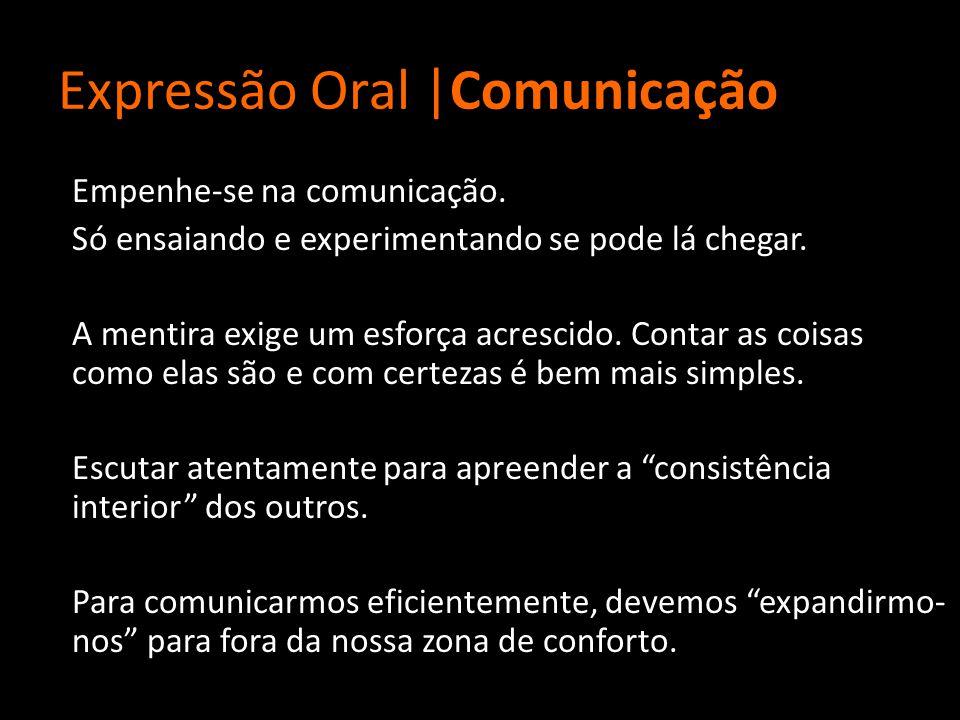 Expressão Oral |Comunicação