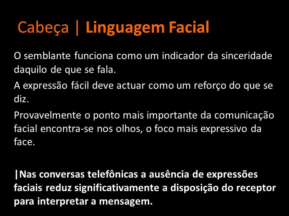Cabeça | Linguagem Facial