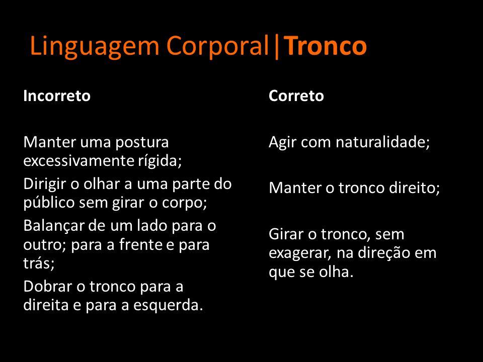 Linguagem Corporal|Tronco