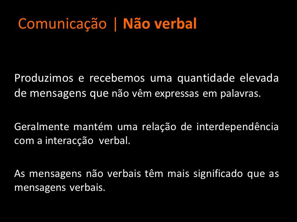 Comunicação | Não verbal