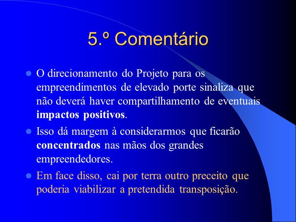 5.º Comentário
