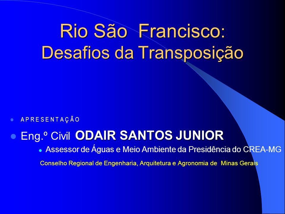Rio São Francisco: Desafios da Transposição