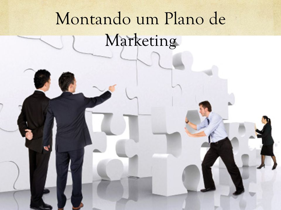 Montando um Plano de Marketing