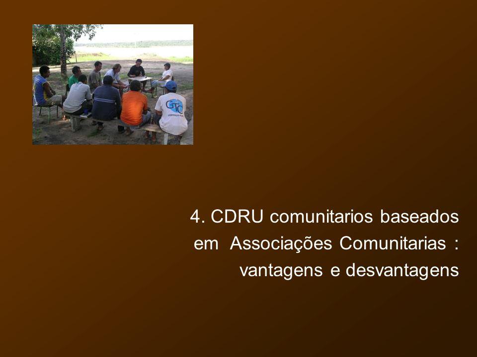 4. CDRU comunitarios baseados