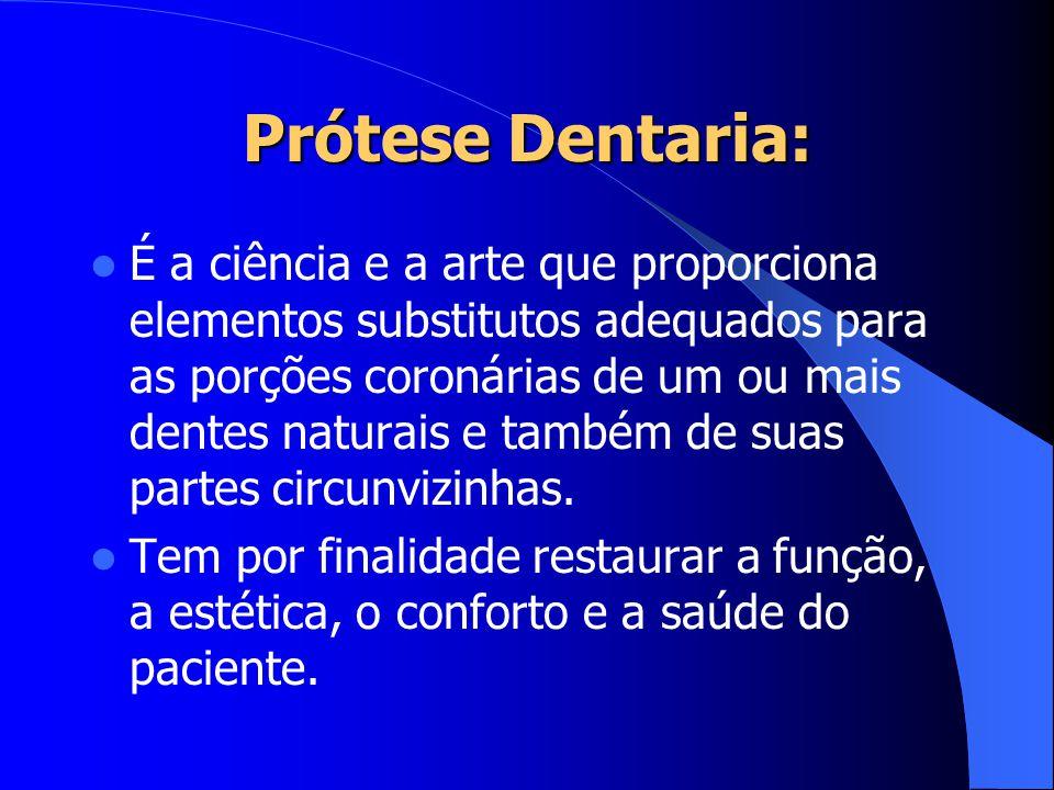 Prótese Dentaria: