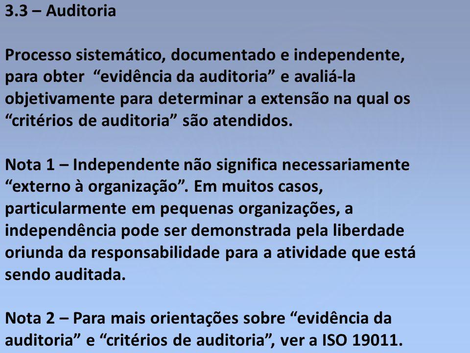 3.3 – Auditoria
