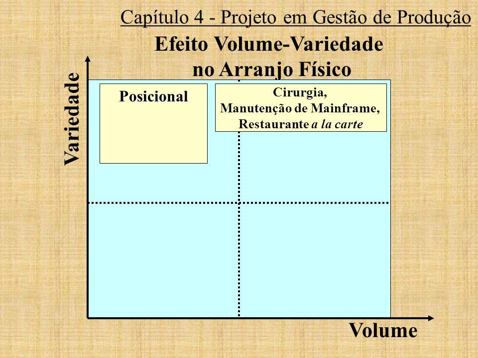 Efeito Volume-Variedade Manutenção de Mainframe,