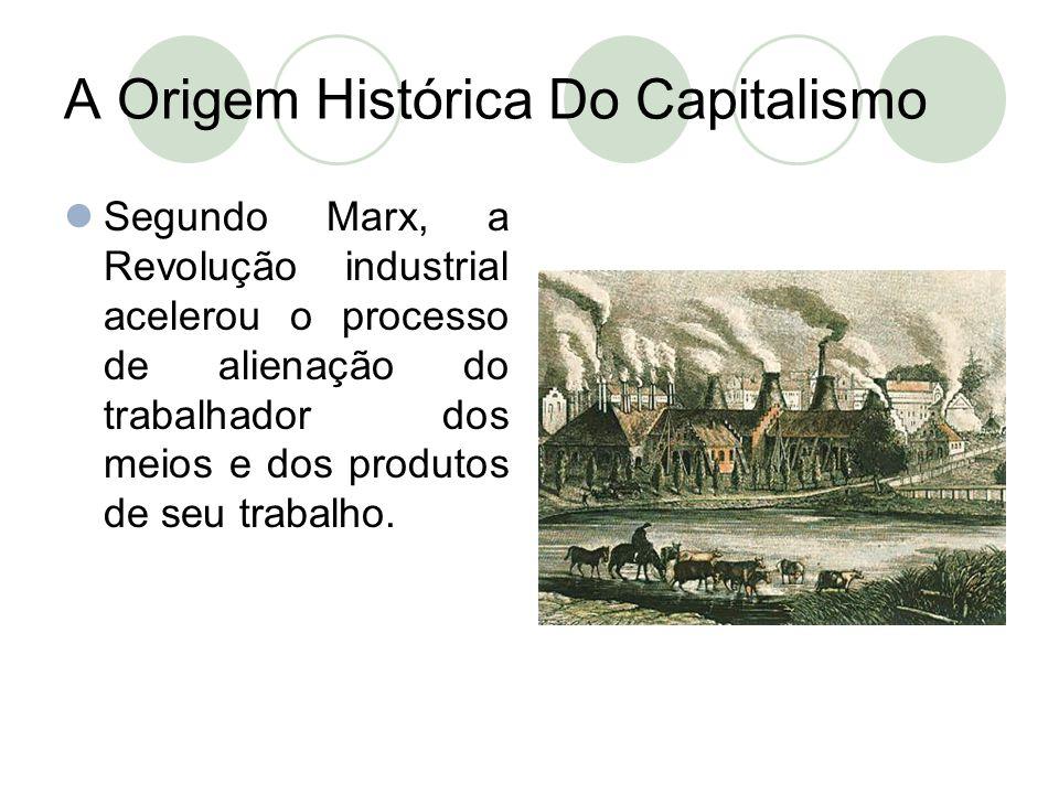 A Origem Histórica Do Capitalismo