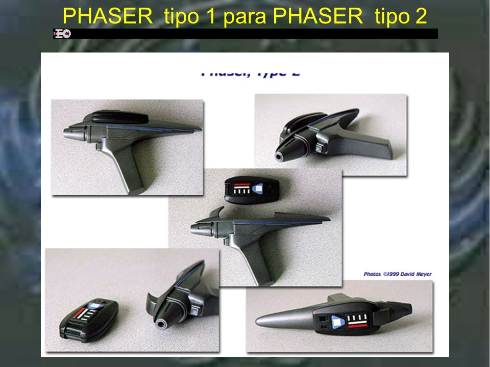 Phaser tipo 1 para Phaser tipo 2