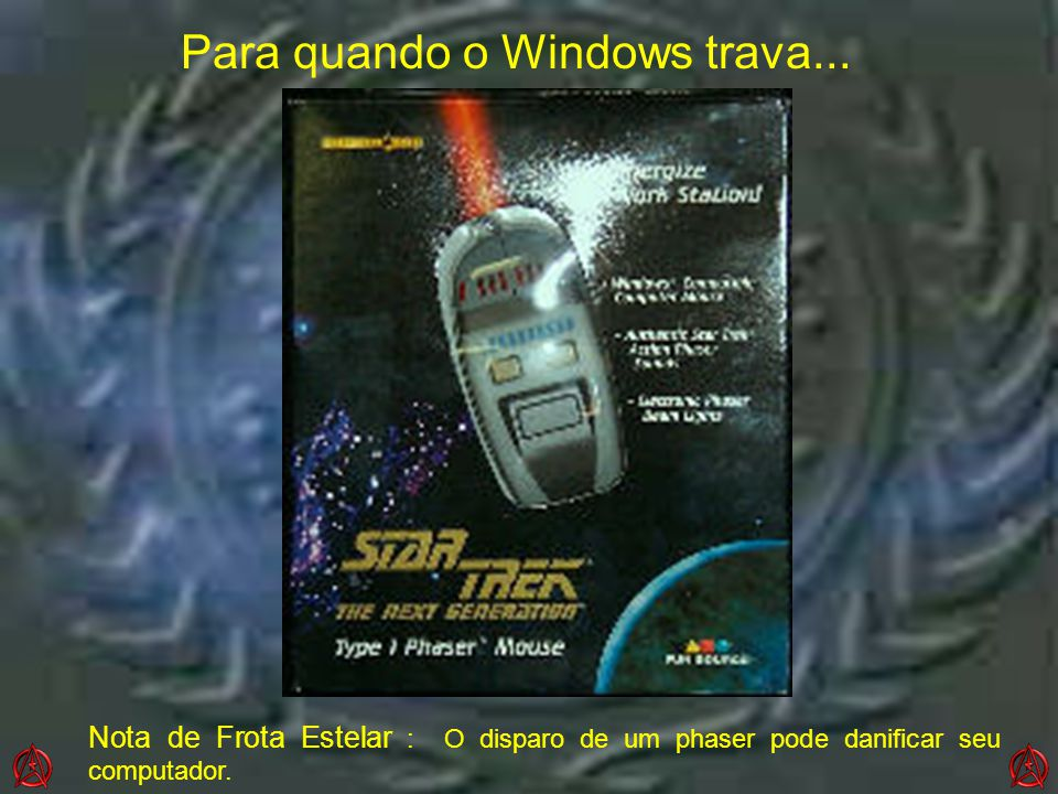 Para quando o Windows trava...