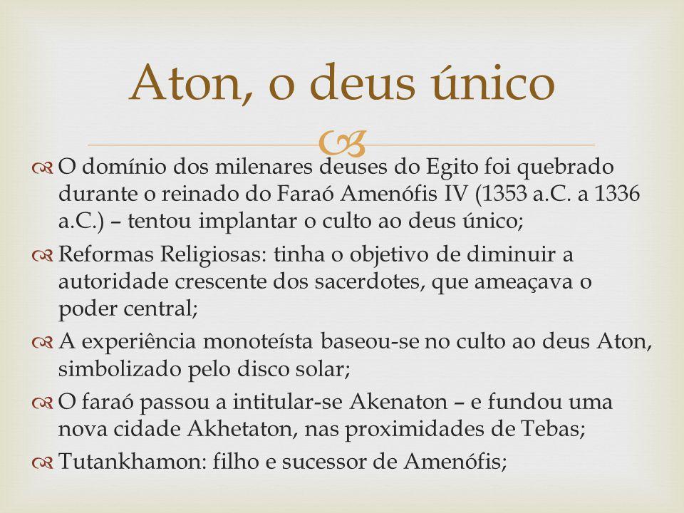 Aton, o deus único
