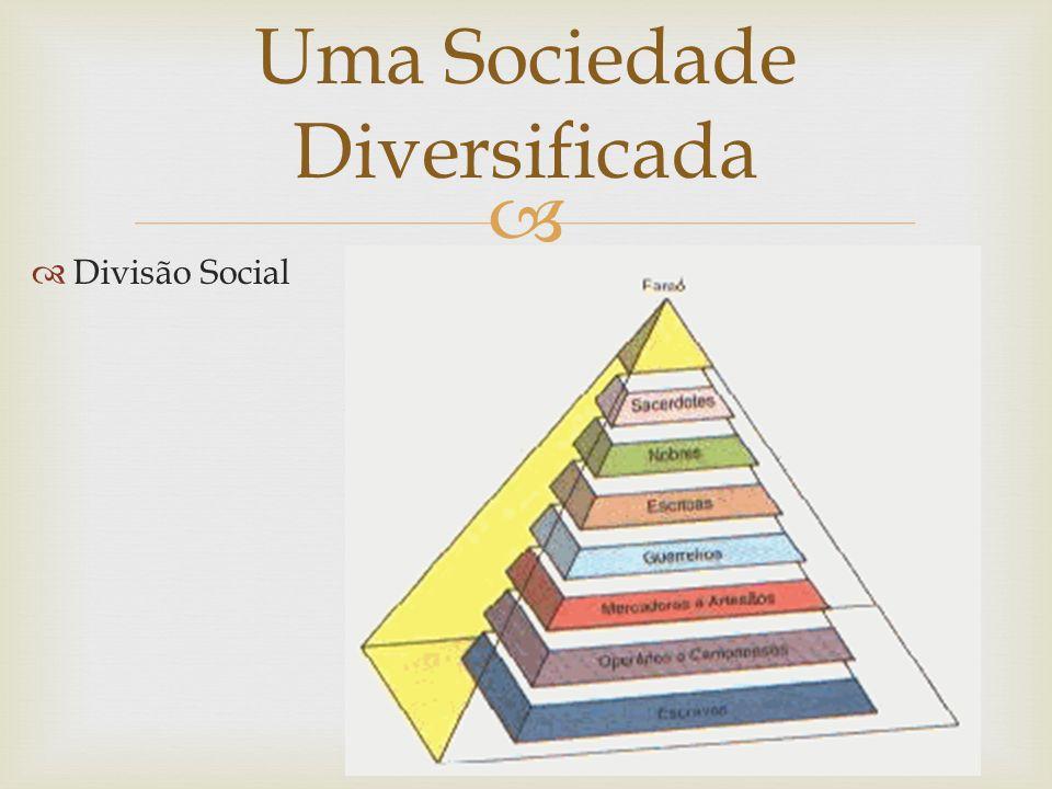 Uma Sociedade Diversificada