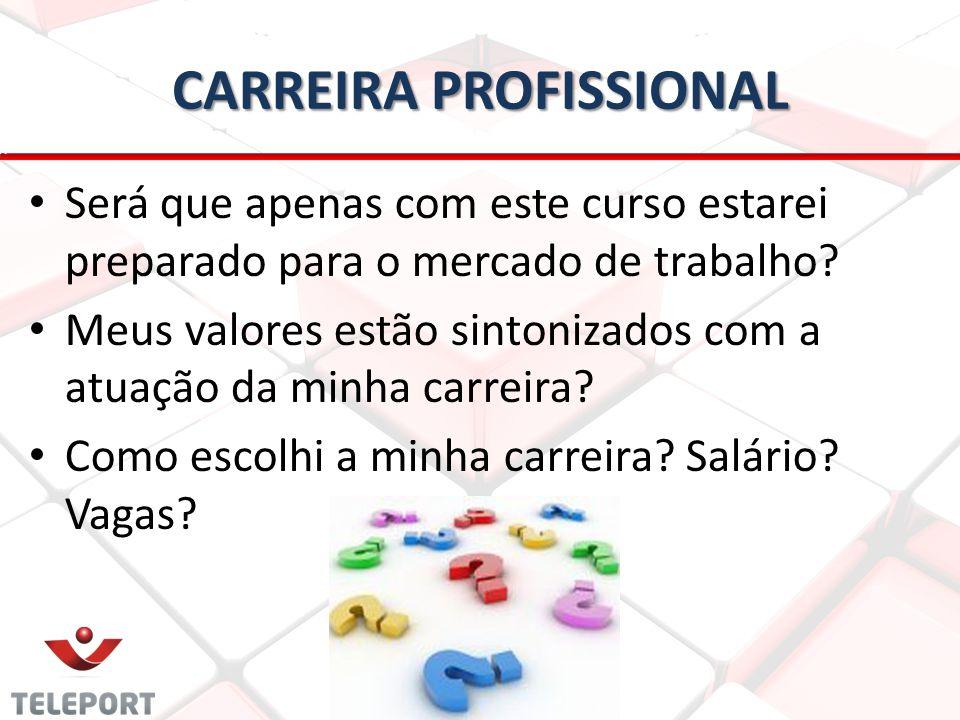 CARREIRA PROFISSIONAL