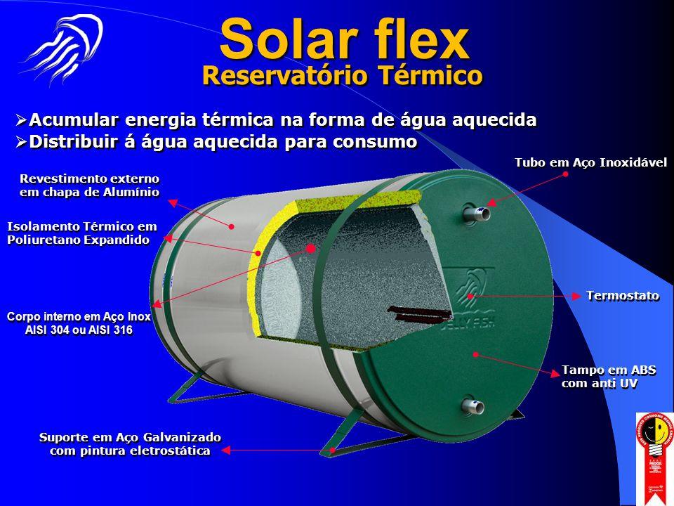Solar flex Reservatório Térmico