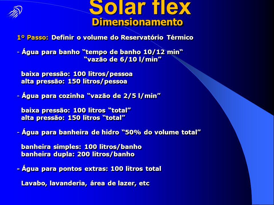 Solar flex Dimensionamento