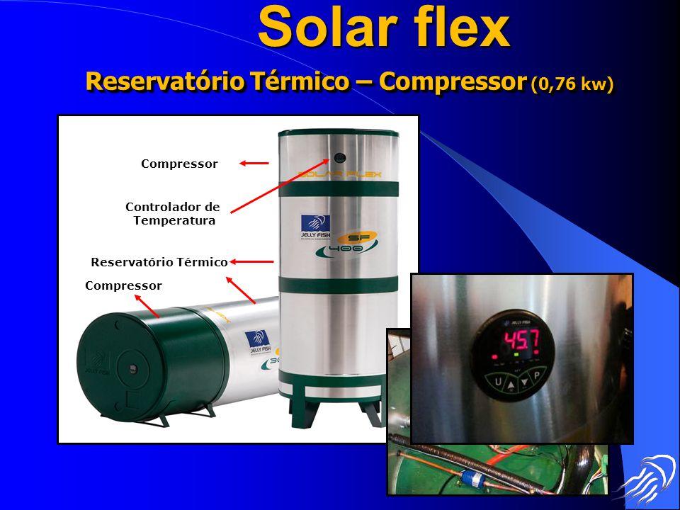 Reservatório Térmico – Compressor (0,76 kw)