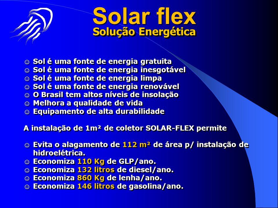Solar flex Solução Energética ☺ Sol é uma fonte de energia gratuita