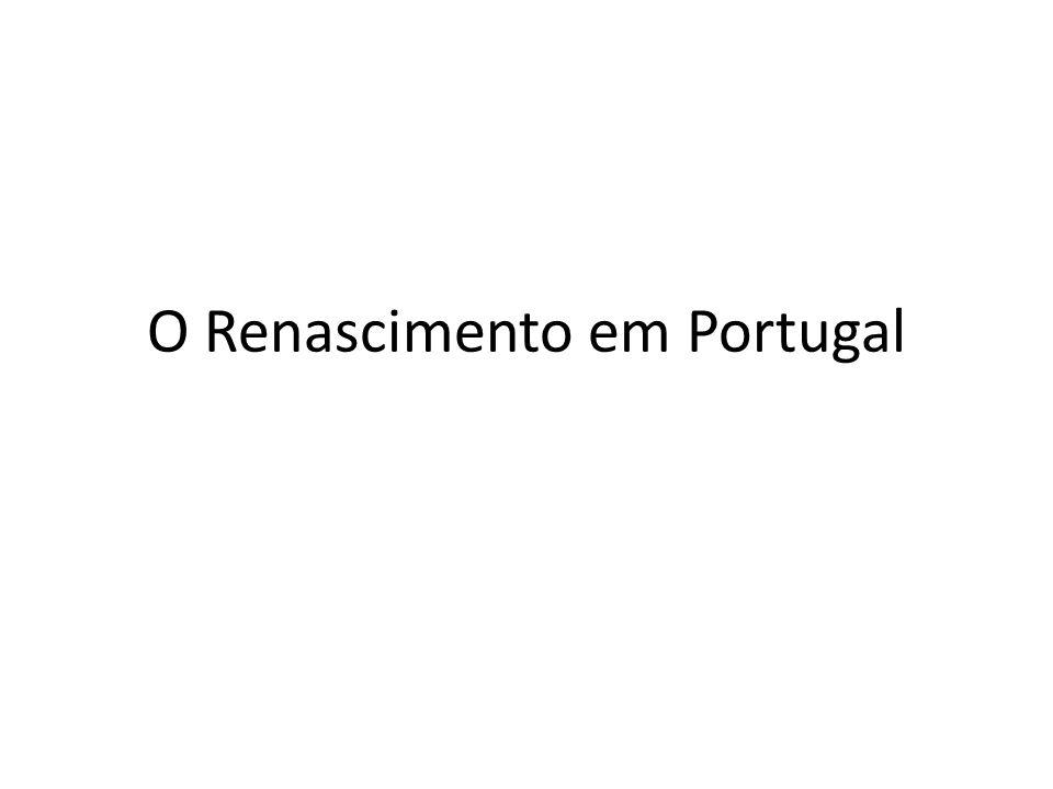 O Renascimento em Portugal