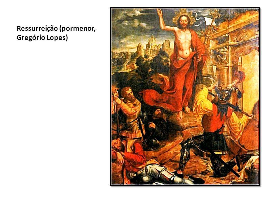 Ressurreição (pormenor, Gregório Lopes)