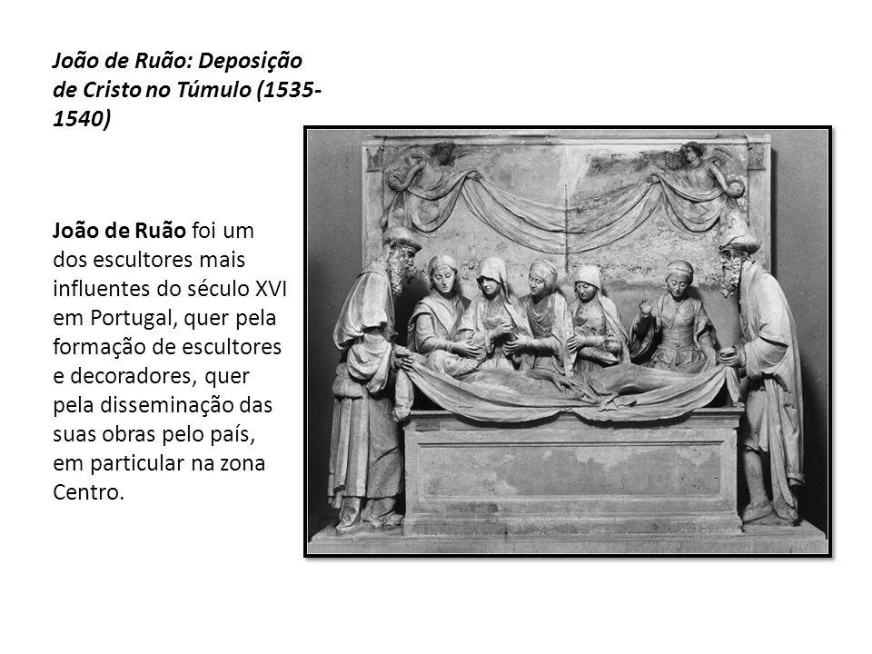 João de Ruão: Deposição de Cristo no Túmulo (1535-1540)