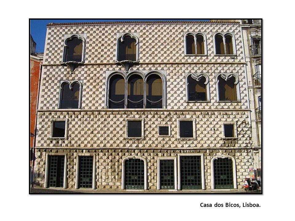 Casa dos Bicos, Lisboa.