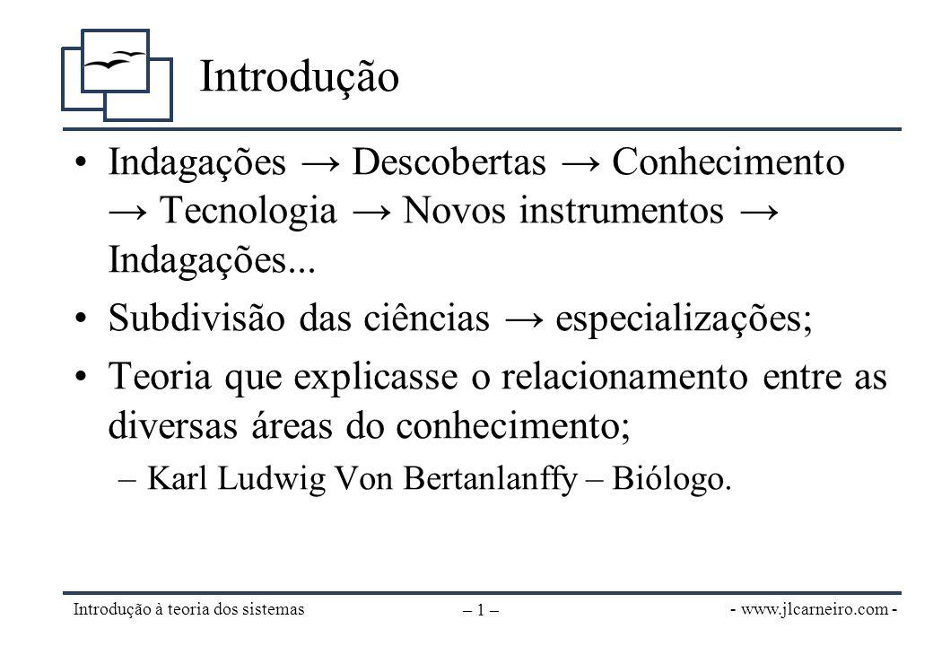 Definição de sistema (1)