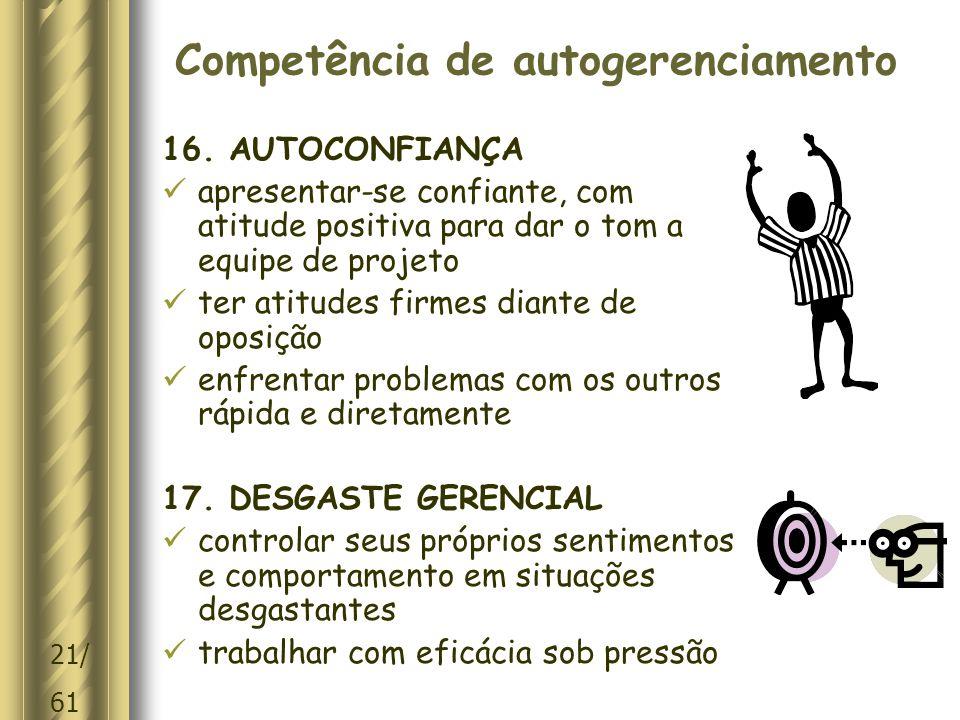 Competência de autogerenciamento