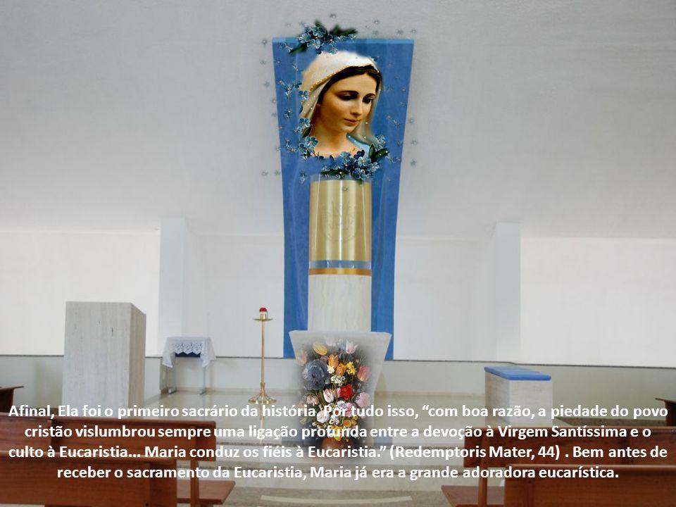 Afinal, Ela foi o primeiro sacrário da história