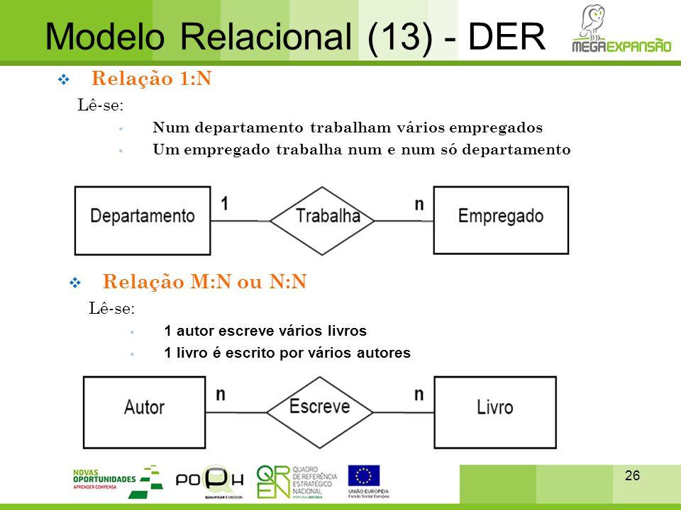 Modelo Relacional (13) - DER