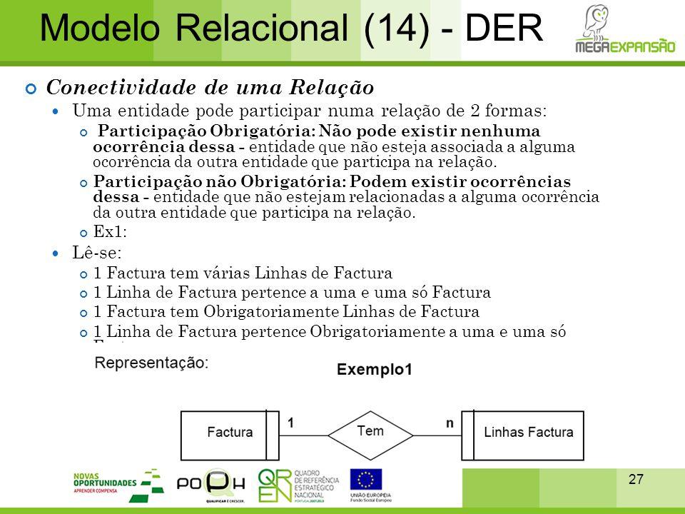Modelo Relacional (14) - DER