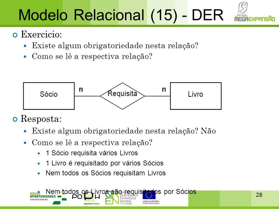 Modelo Relacional (15) - DER
