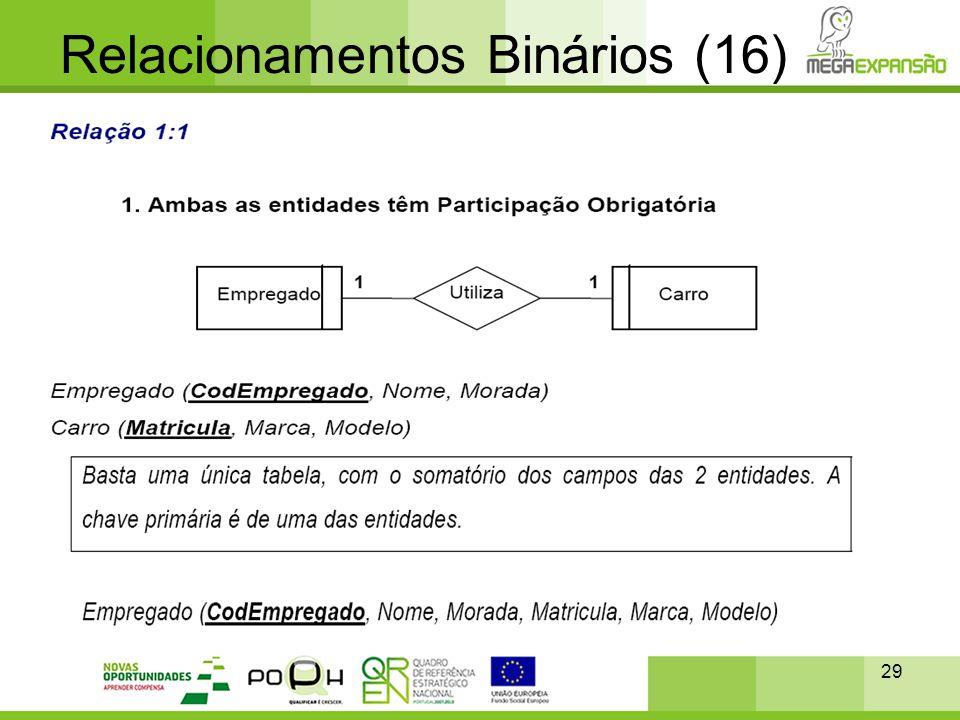 Relacionamentos Binários (16)