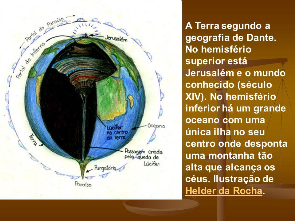 A Terra segundo a geografia de Dante