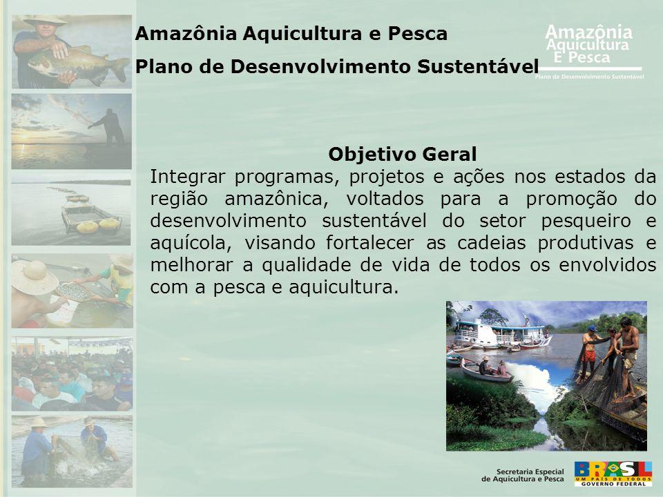 Amazônia Aquicultura e Pesca Plano de Desenvolvimento Sustentável