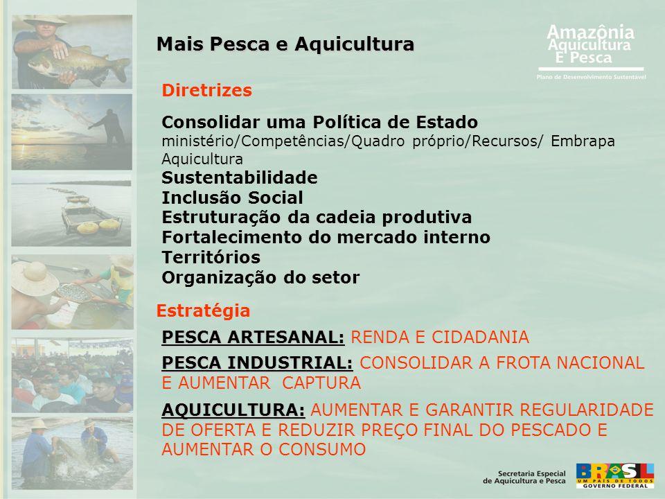 Mais Pesca e Aquicultura