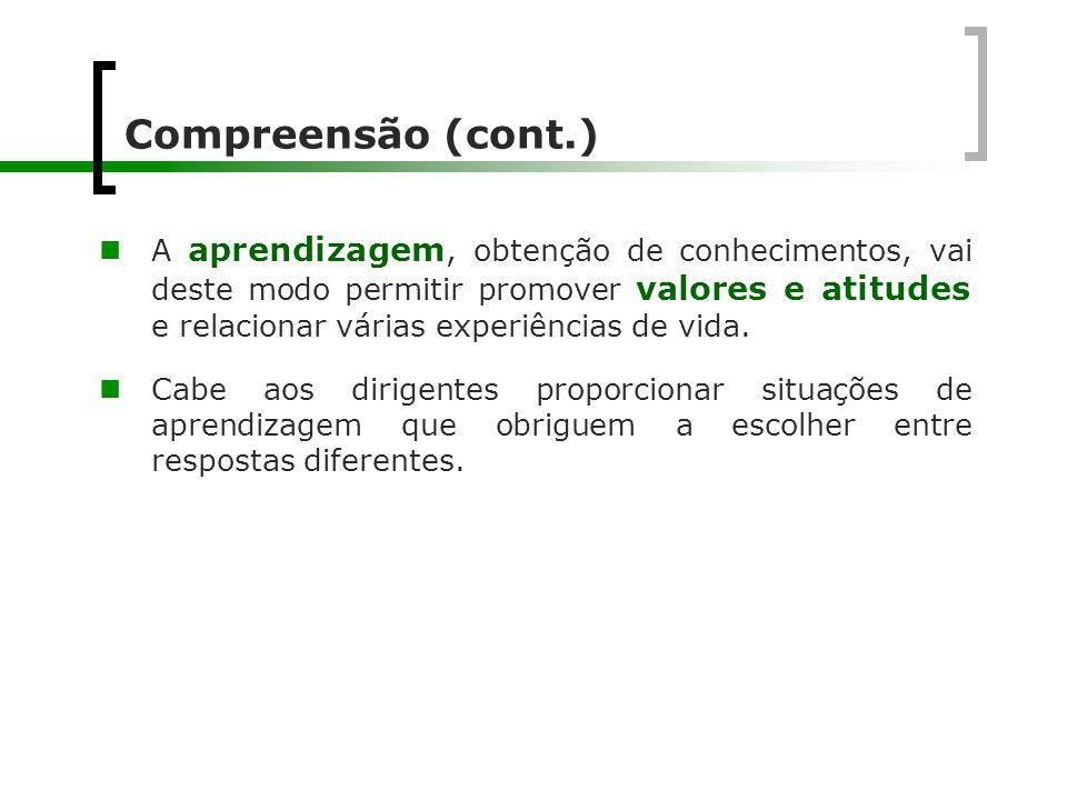 Compreensão (cont.)