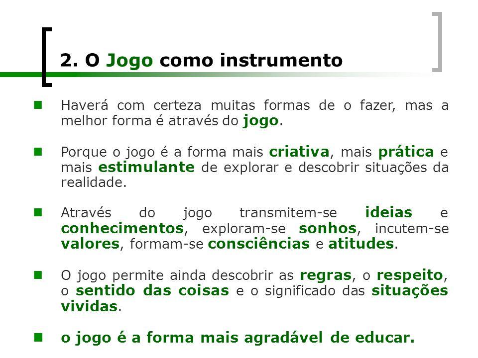 2. O Jogo como instrumento