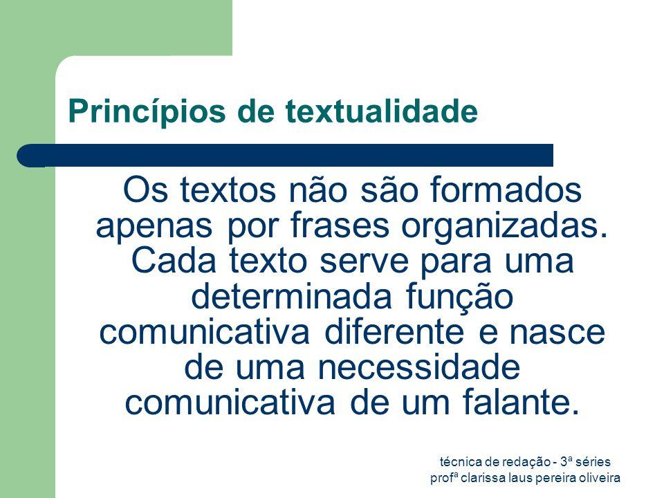 Princípios de textualidade