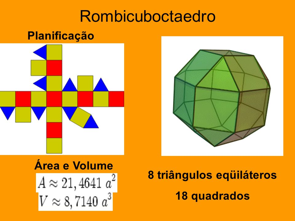 8 triângulos eqüiláteros