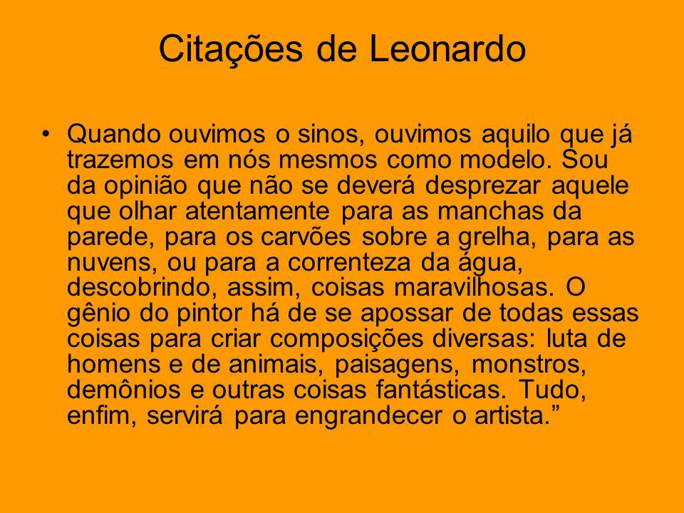 Citações de Leonardo