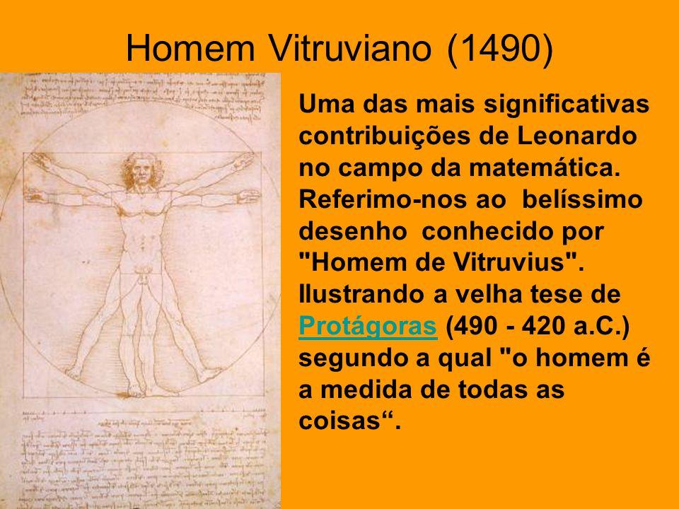 Homem Vitruviano (1490)