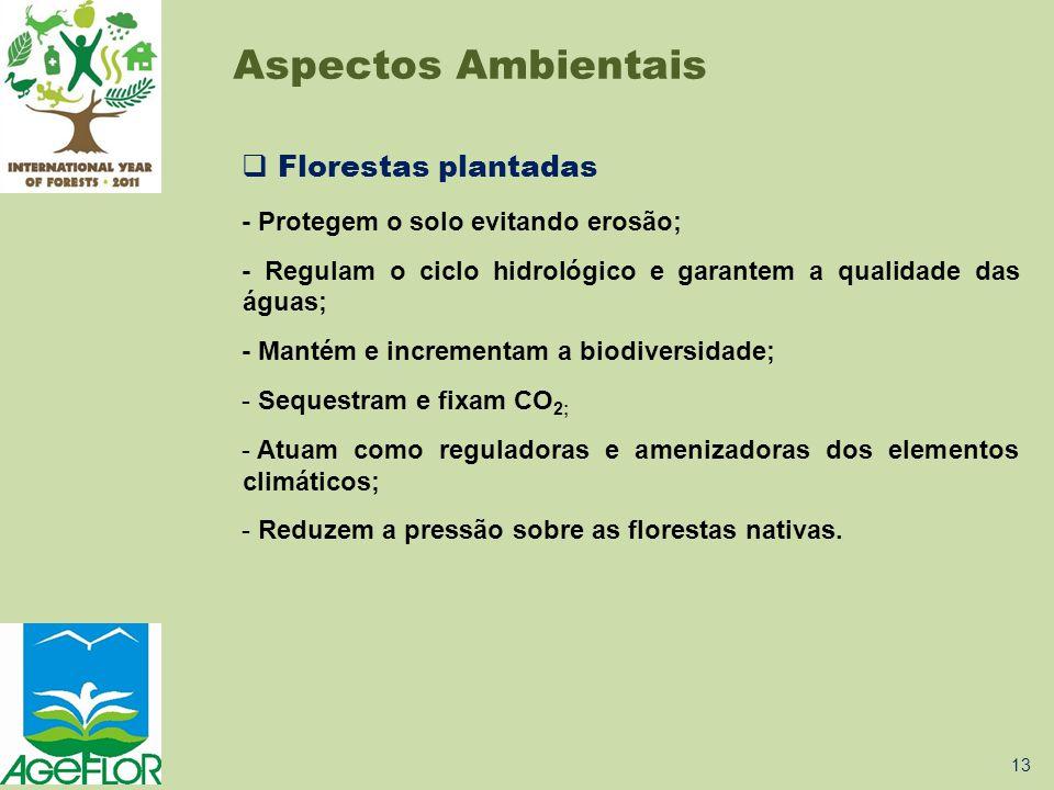 Aspectos Ambientais Florestas plantadas